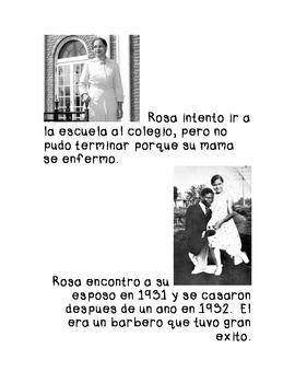 Rosa Parks Biography (Spanish)