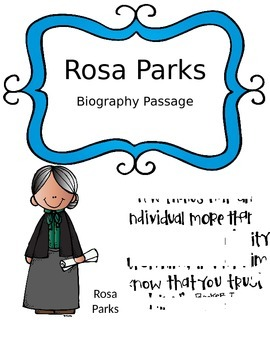 Rosa Parks Biography with Question