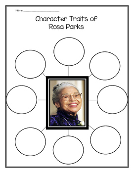 Rosa Parks - Character Traits