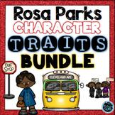 Rosa Parks - Character Traits Activities Bundle | Black History Month Activities