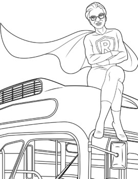 Rosa Parks Coloring Pages Worksheets Teaching Resources Tpt