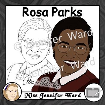 Rosa Parks Clipart