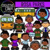 Rosa Parks Clipart {Creative Clips Clipart}