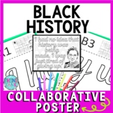 Rosa Parks Collaborative Poster!  Black History - Civil Rights - Team Work