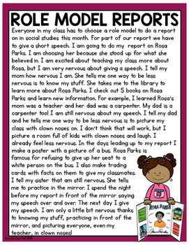Rosa Parks Comprehension Activities