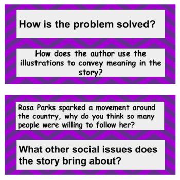 Rosa Parks Comprehension packet
