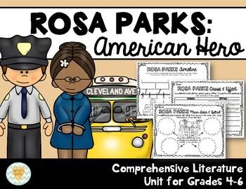 Rosa Parks: Comprehensive Literature Unit, Grades 4-6
