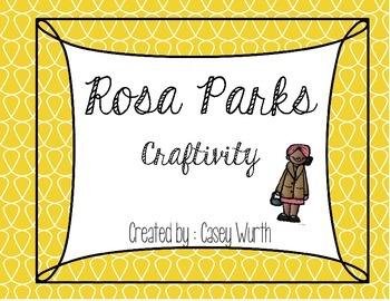 Rosa Parks Craftivity