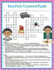 Rosa Parks Activities Crossword Puzzle and Word Search Find