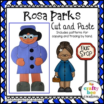 Rosa Parks Cut and Paste