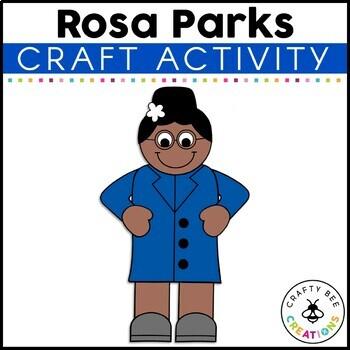 Rosa Parks Cut and Paste