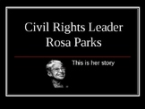 Rosa Parks- Describing Character Motivation Lesson Plan