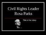Rosa Parks- Describing Character Motivation Lesson Plan