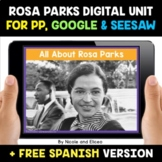Rosa Parks Digital Activities for Google and Seesaw - Dist