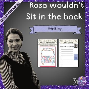 Rosa Parks - EFL Worksheets #birthdaysale35