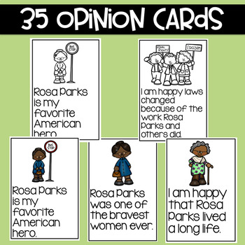 Rosa Parks: Fact and Opinion
