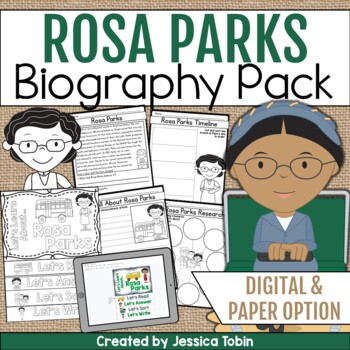 Rosa Parks Biography Pack