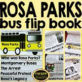 Rosa Parks Flip Book Reading Activity