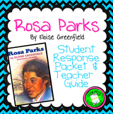 Rosa Parks (Greenfield) Literature Packet and Teacher Guide - CCSS Aligned