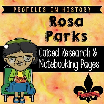 Rosa Parks Guided Research Activity