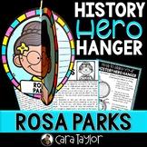 Rosa Parks History Hero Hanger Craft for Black History Month