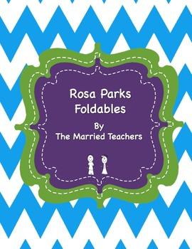 Rosa Parks Interactive Historical Figure Foldables