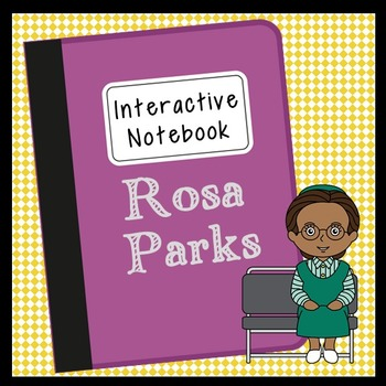 Rosa Parks Interactive Notebook, Civil Rights, Black Histo