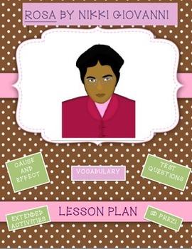 Rosa Parks Lesson Plan and Prezi