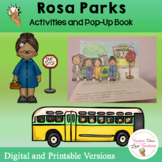 Rosa Parks Lesson and Pop Up Book