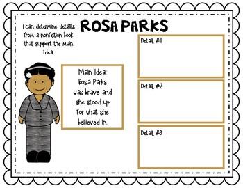 Rosa Parks Main Idea