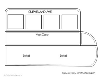 Rosa Parks: Main Idea and Details, Close Reading, and Bus Craftivity