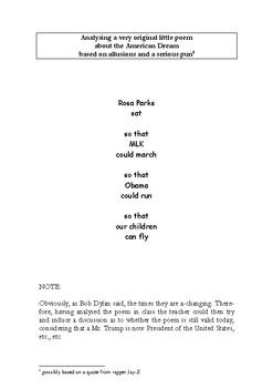 Rosa Parks, Martin Luther King & Obama: A poem