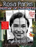 WOMEN'S HISTORY MONTH, ROSA PARKS BIOGRAPHY, WRITING ACTIVITY, POSTER ACTIVITY