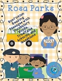 Rosa Parks Nonfiction Reading Passages with Activities and Vocabulary
