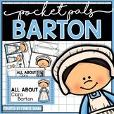 Famous Women Clara Barton Pocket Pal