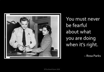 Rosa Parks Poster