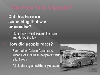 Rosa Parks Power Point