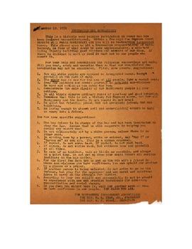 Rosa Parks Primary Sources Lesson Plan
