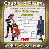 Spring Break Pirates Reading Comprehension Audiobook: Teac