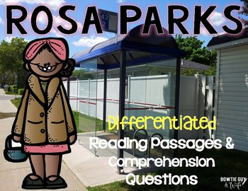 Rosa Parks Reading Passages Leveled Texts
