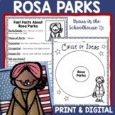 Rosa Parks Research Activity Sheets and Graphic Organizers