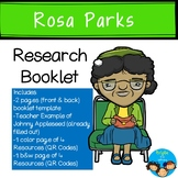 Rosa Parks-Historical Figure Research Booklet