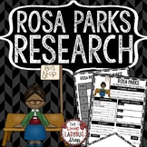 Rosa Parks Research Poster  TEACH-Go Pennant