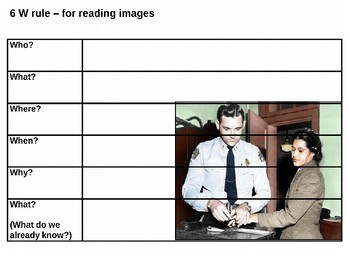Rosa Parks Source Analysis Activity