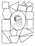 Rosa Parks Stain Glass Activity Project African American H