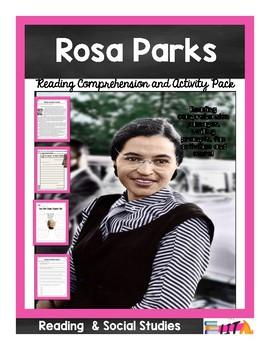 Rosa Parks Student Activity Pack/ Mini Unit