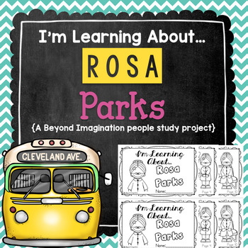 Rosa Parks Study | 48 Pages for Differentiated Learning + Bonus Pages