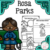 Rosa Parks Study for Primary Grades