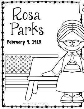 Rosa Parks Research Report Bundle