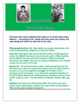 Rosa Parks: The True Story